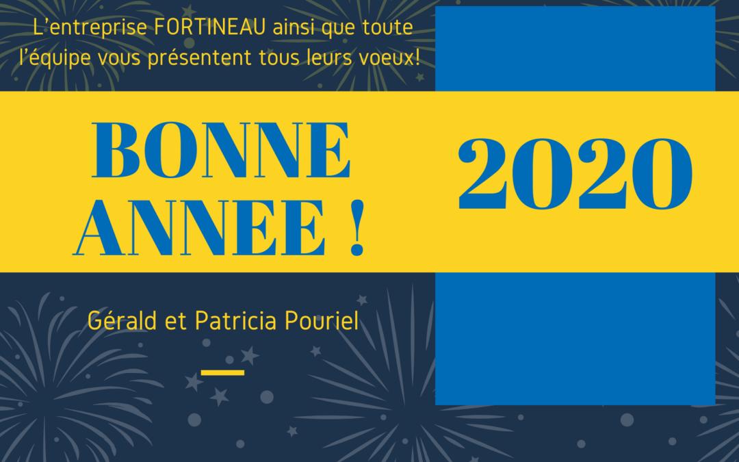 Fortineau Entreprise vous présente ses meilleurs voeux