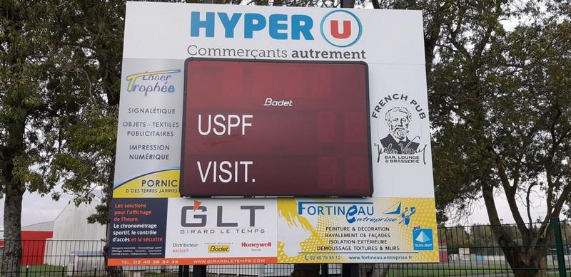 Fortineau entreprise partenaire officiel de l'USPF à Saint Philbert de Grand Lieu